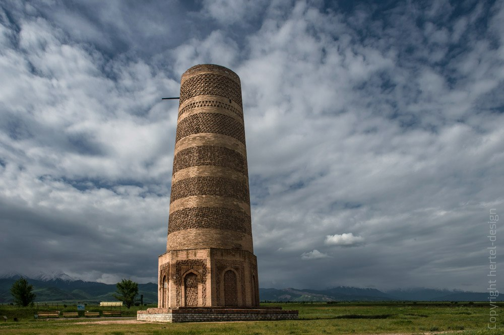 KIRGISTAN, BURANA TOWER